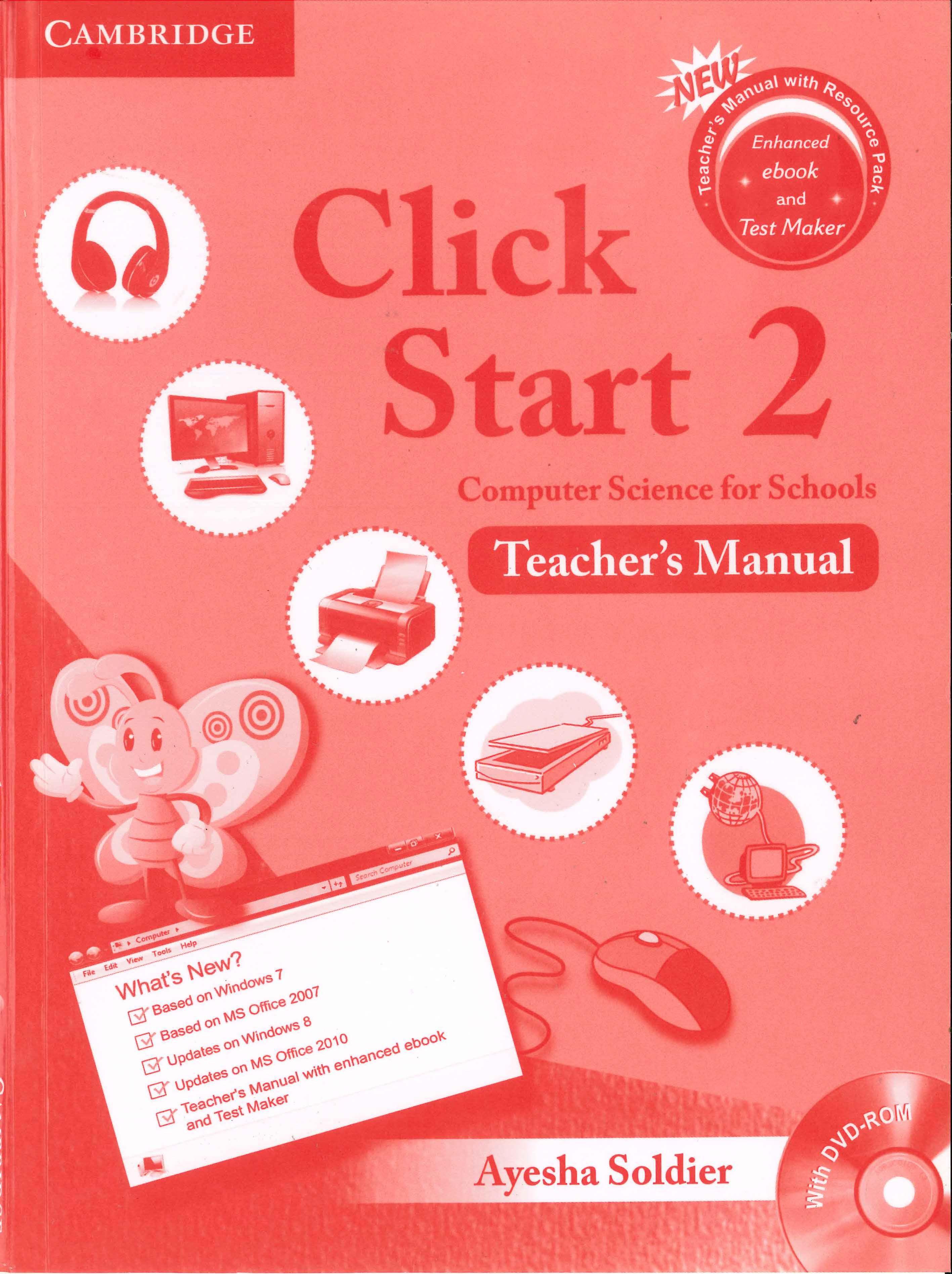 Sach Cambridge Click Start 2 Teacher S Manual Sach Gay Xoắn