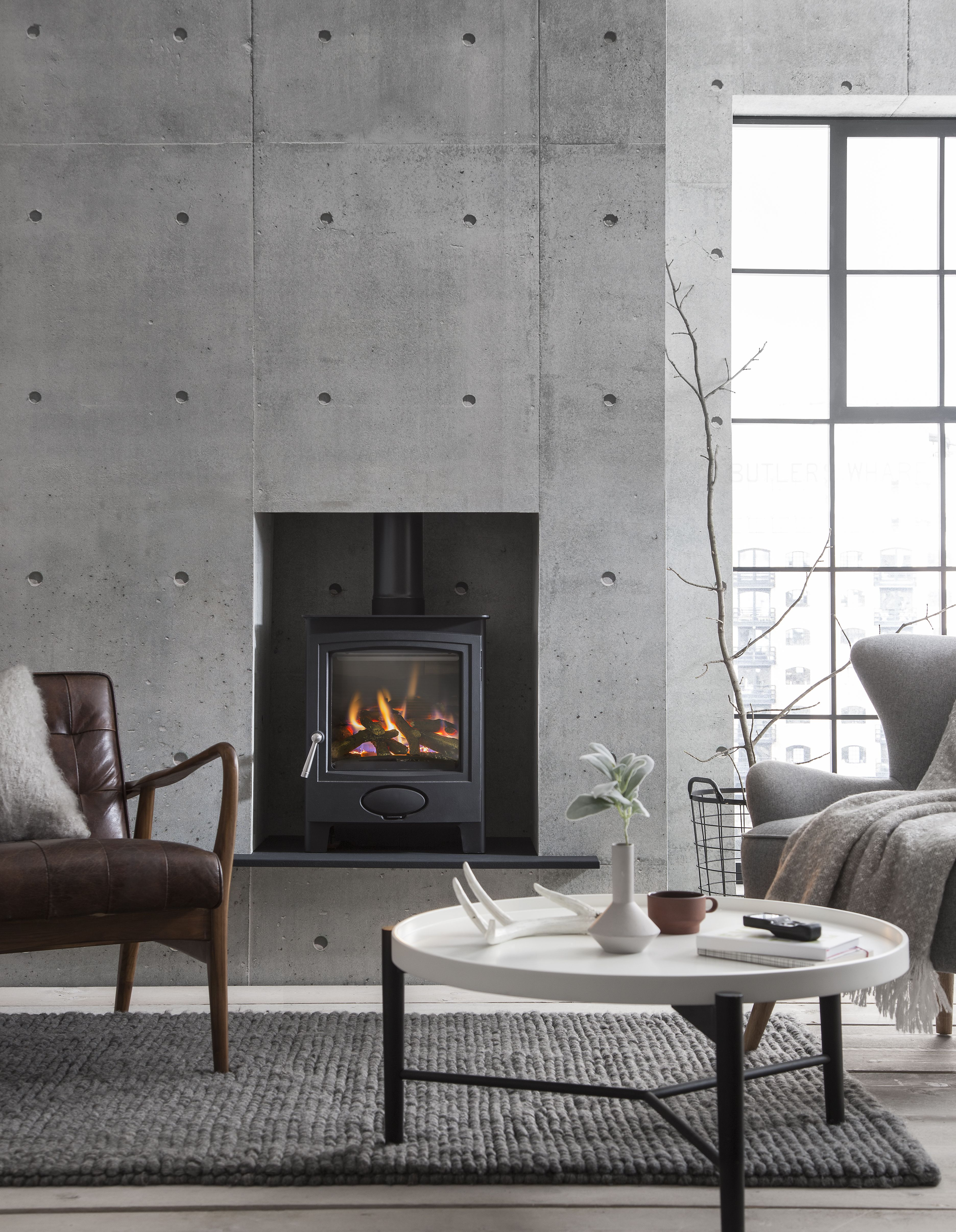 Wood Stove Living Room Design: Arada Stoves And Winter Hygge