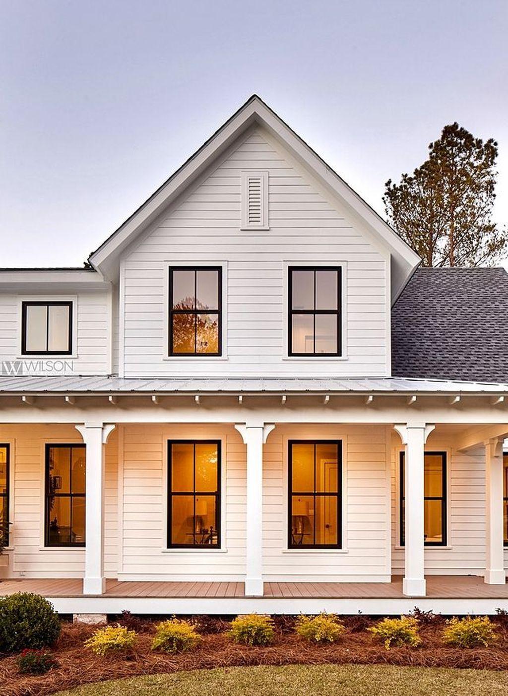 35 Top Modern Farmhouse Exterior Design Ideas Modern