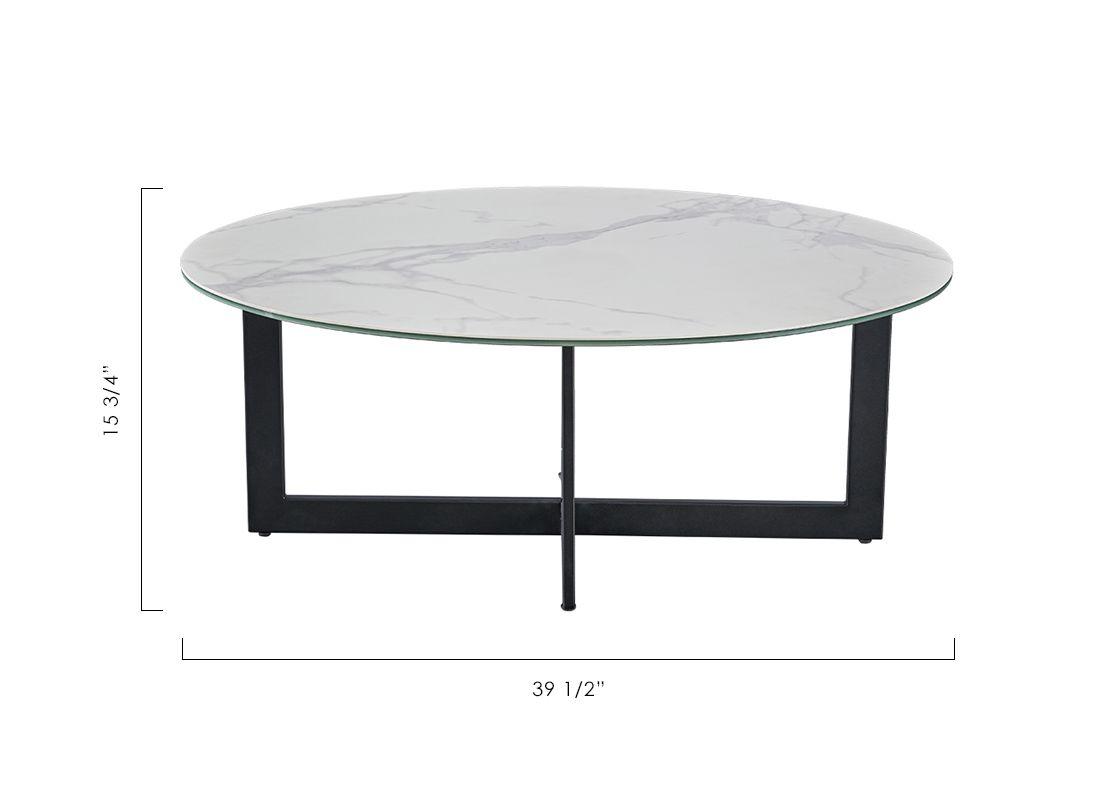 Tracy Coffee Table Coffee Table Table Modani Furniture [ 800 x 1120 Pixel ]