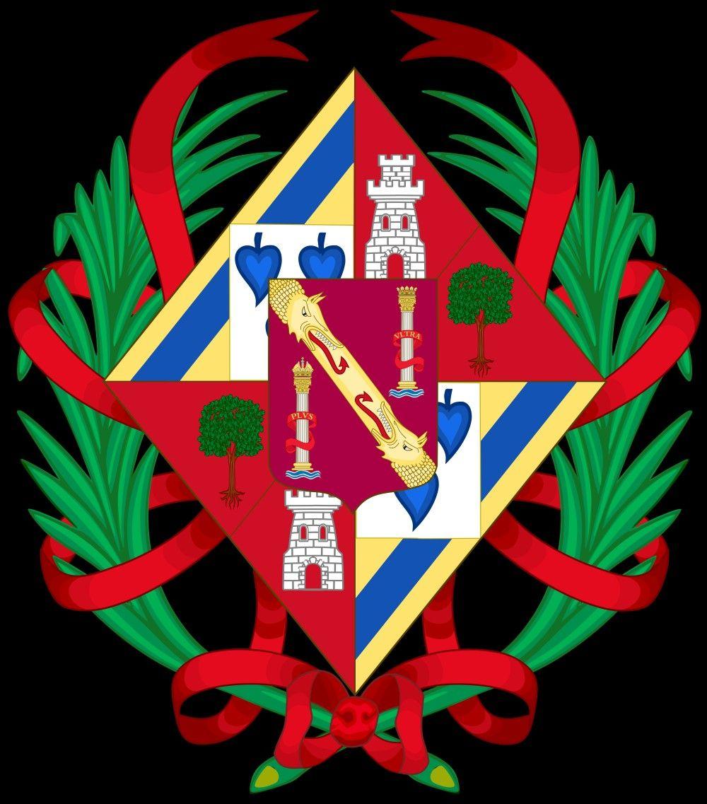Escudo de Armas de Carmen Martínez Bordiu .   Banderas ...