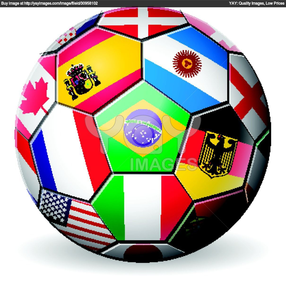 how to make a soccer ball worlde
