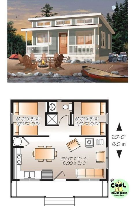 Tiny Cabin Design Plan Cabin Cottage Design Architecture Cabin Cottage Design Plan Tiny Mykin Tiny House Floor Plans Best House Plans Lakefront Homes