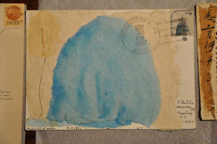A Quiet Line Lenore Tawney Envelope Art Art Paper Art