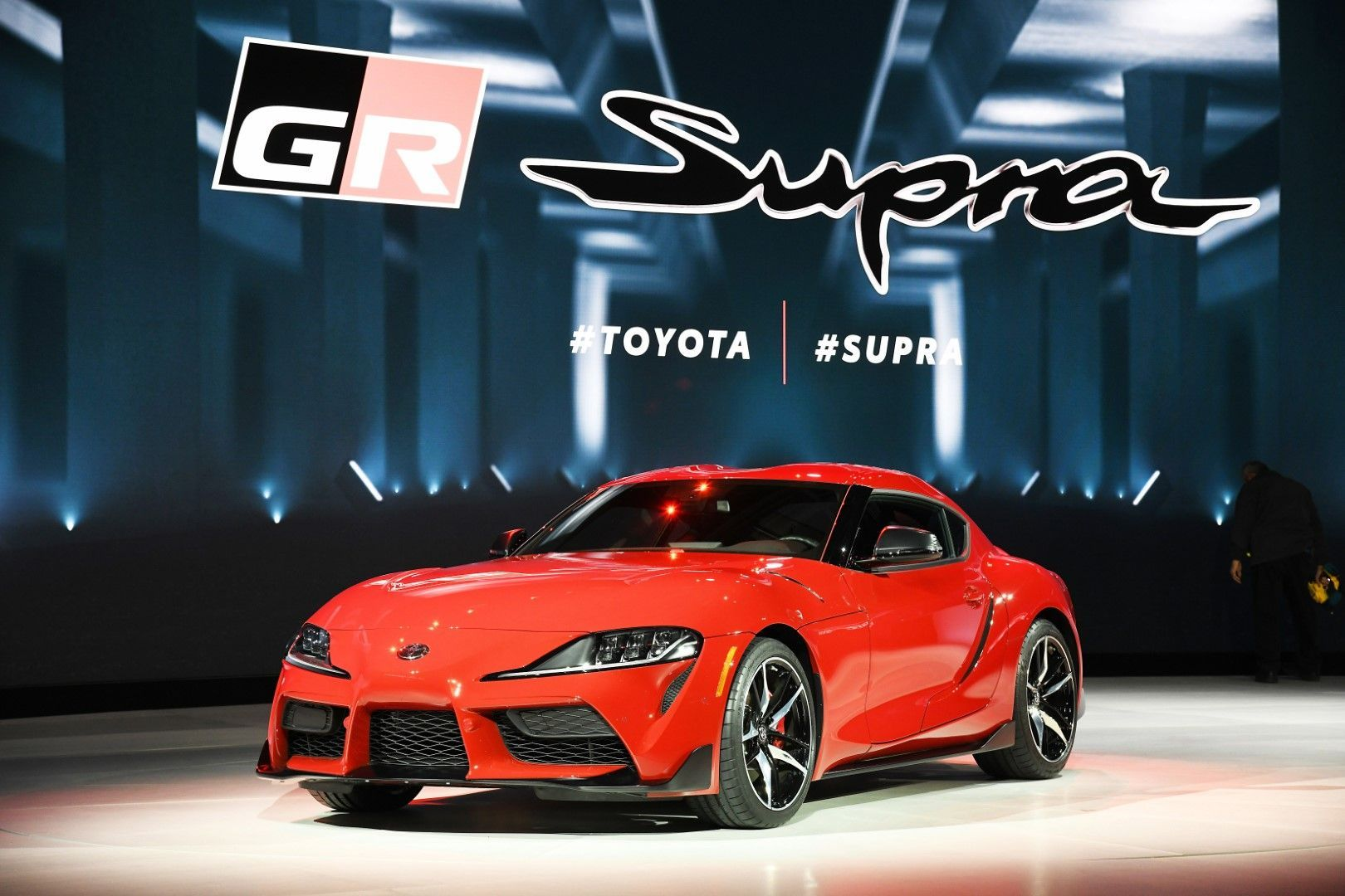 2020 Toyota Supra North American Model 3 0 Liter Turbocharged Inline Six With 335 Hp And 365 Lb Ft Of Torque New Toyota Supra Toyota Supra Toyota