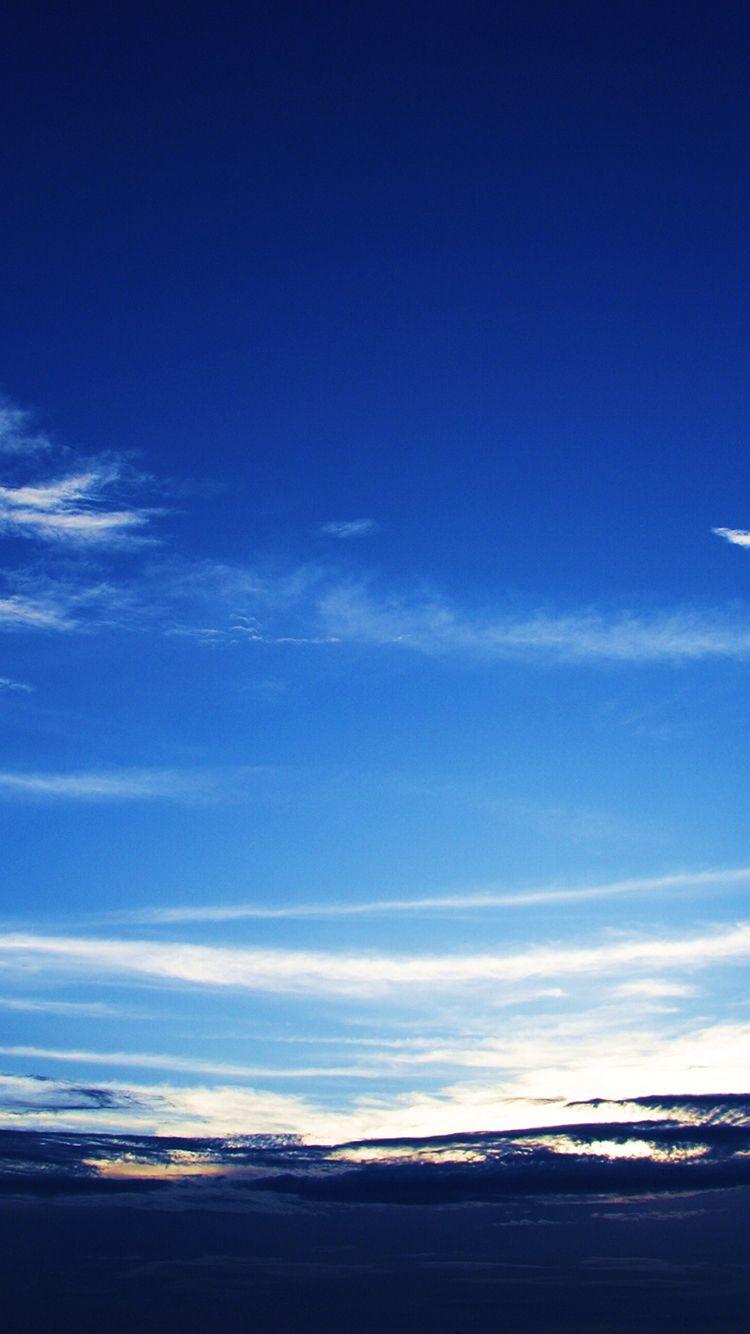Dark Blue Cloudy Sky Iphone 6 Wallpaper Iphone 6 Wallpaper Wallpaper Pastel Wallpaper