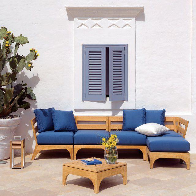 20 canapés de jardin pour un coin outdoor confortable | Décoration ...