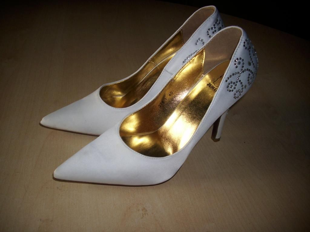 Buty Slubne Wygodne Polecam Nowe 40 5055459248 Oficjalne Archiwum Allegro Heels Kitten Heels Shoes
