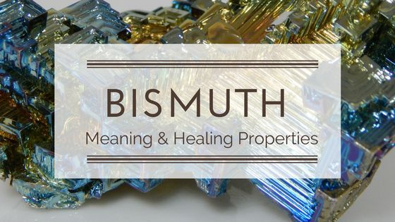 Bismuth Meaning and Healing Properties   crystals   Bismuth metal