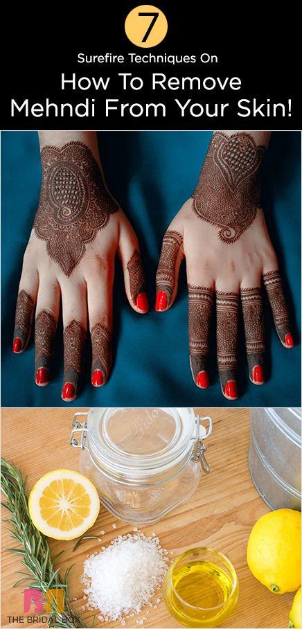 7 Surefire Techniques On How To Remove Mehndi How To Remove Henna Henna Tattoo Tattoo Removal Cost