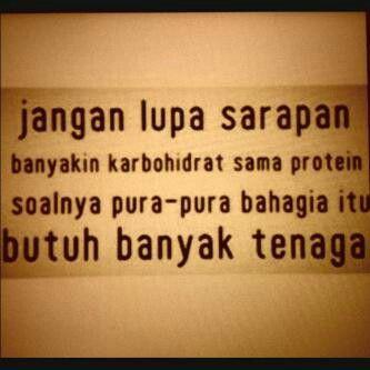 Jangan Lupa Sarapan Banyakin Karbo Dan Protein Soalnya Pura Pura