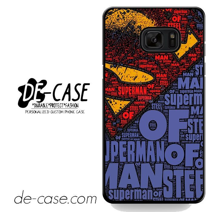 Superman Man of Steel DEAL-10312 Samsung Phonecase Cover For Samsung Galaxy Note 7