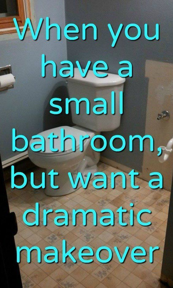 DIY Easy Small Bathroom Makeover Idea on a Budget