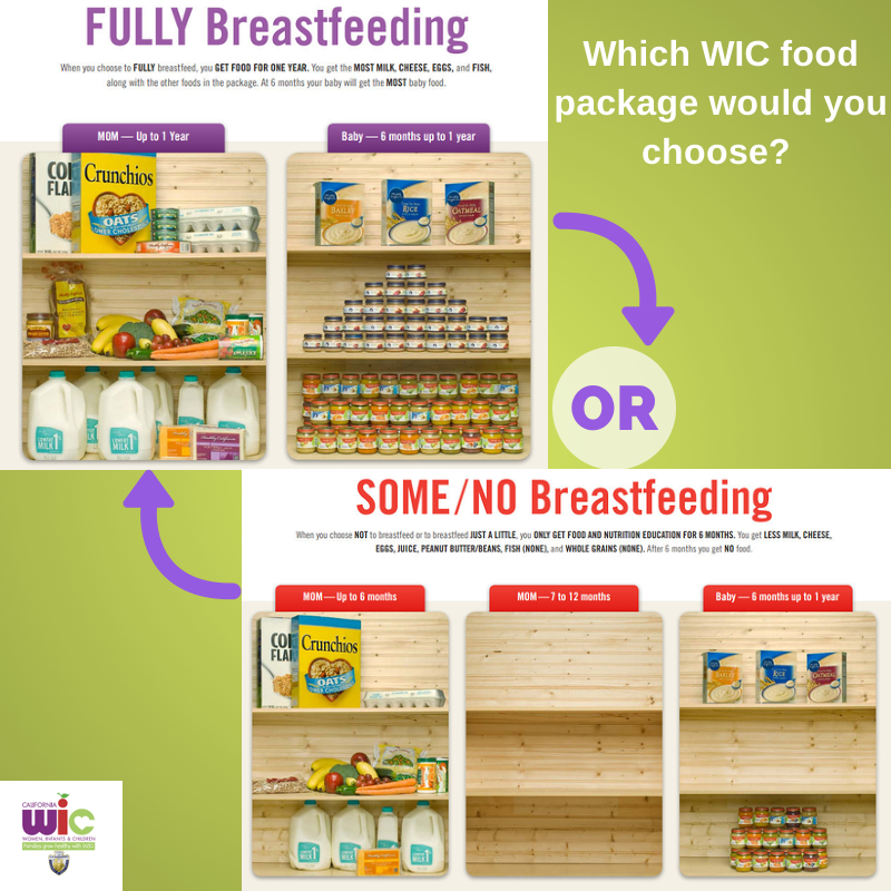 Some wic food packages which would you choose nutrition health wellness family breastisbest breastfeeding also rh pinterest