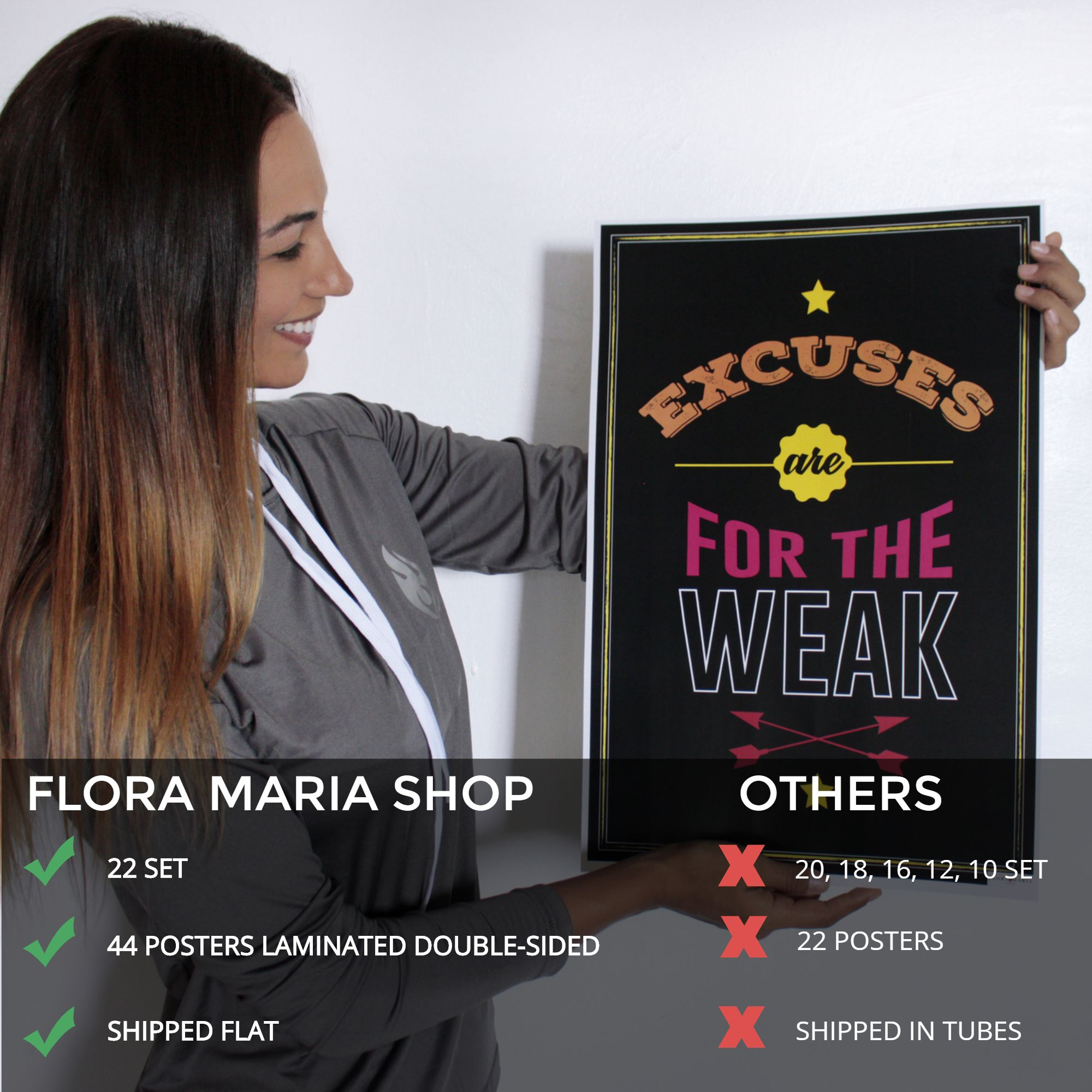 Excuses Are For The Weak Motivational Posters Motivation Poster