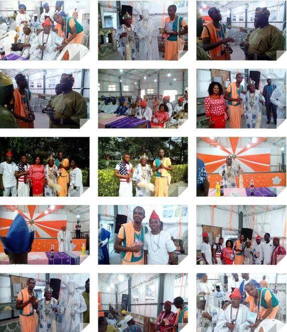 Iskcon Devotees In Lagos, Nigeria. Participants On, Oba Alafia Multicultural Dialogue. (Album 22 photos) Organized by chief Alafia Ifaladeoba Odubola Shalom. held at, national gallery of arts hall,...
