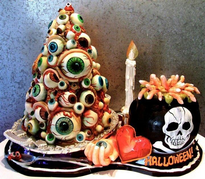 Very cool Halloween cakes halloween Pinterest Halloween
