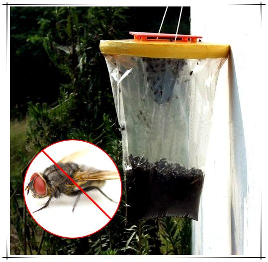 Disposable Nontoxic Flytrap Flies Mosquito Killer Pre Baited Traps Pest  Control
