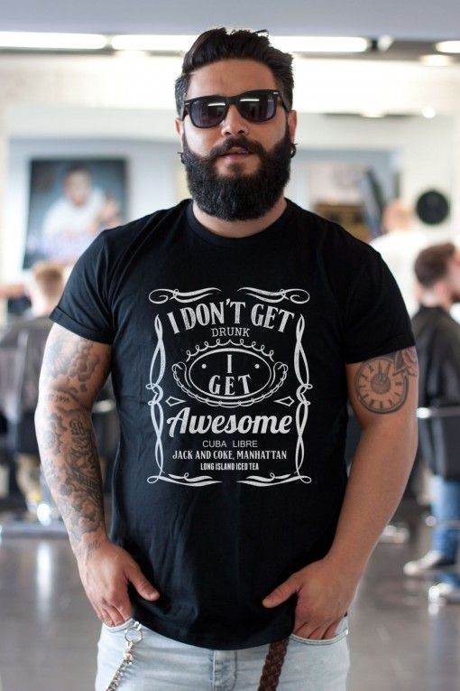 Get Awesome T-Shirt Black