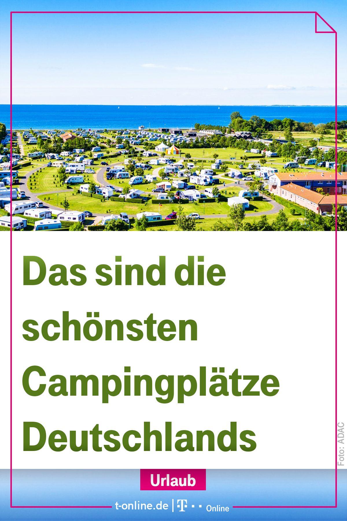 Das sind die schönsten Campingsplätze Deutschlands. #reise #urlaub #camping