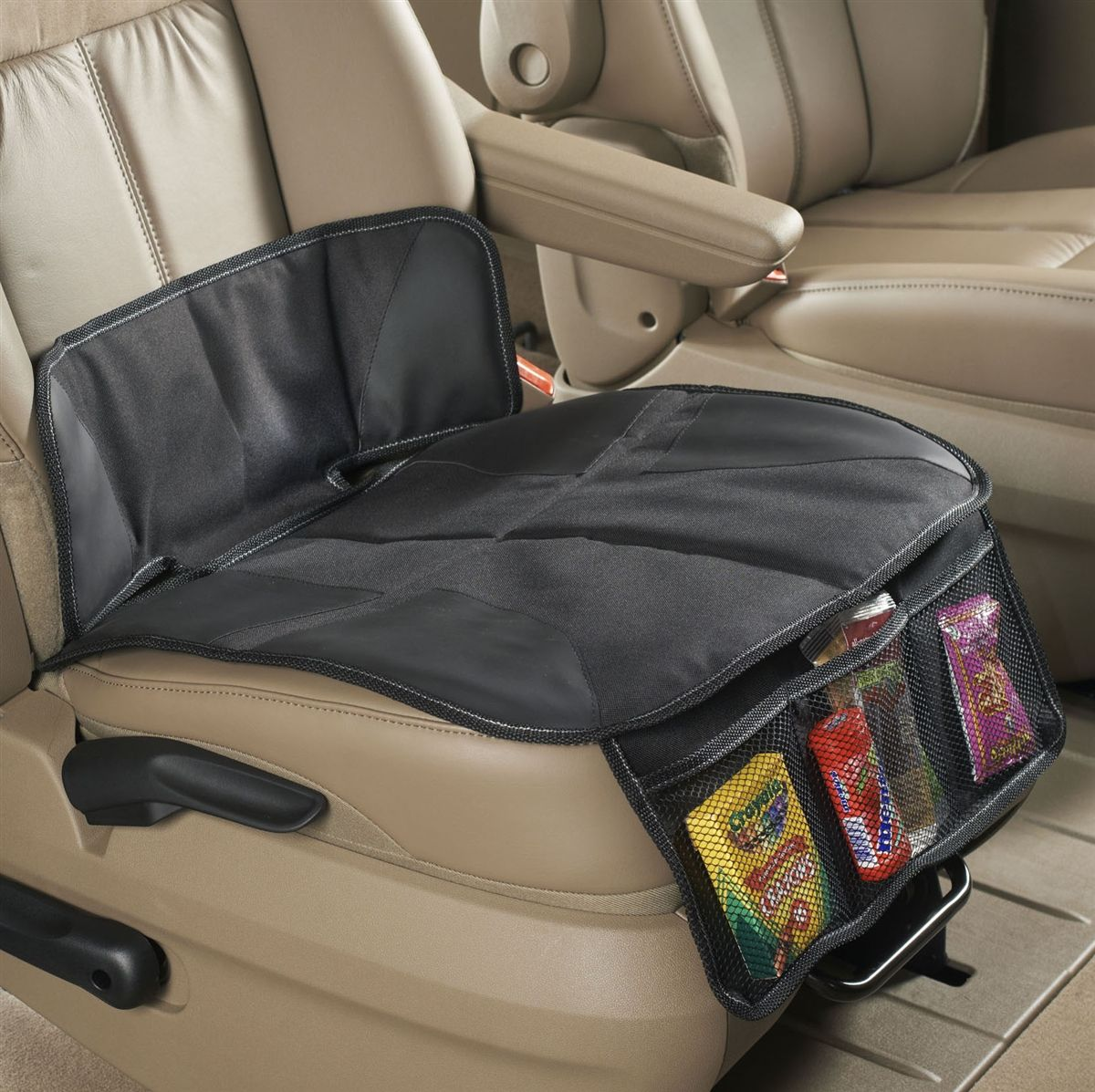 High Road Car Organizers Car Seat Protector Mat For Booster And