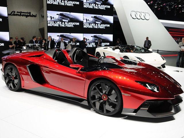 Lamborghini Aventador J Super Car | Vehicles | Pinterest | Super ...