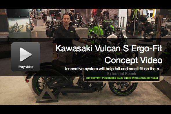 Kawasaki Vulcan S Cruiser Motorcycle Ergo Fit Concept Explained