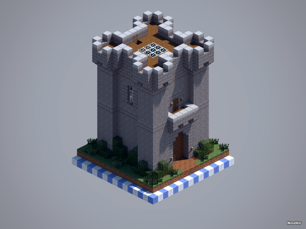 the complete chunkworld medieval and minecraft ideas