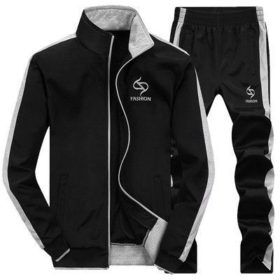 Men's Tracksuits, Casual Sportswear Navy Black Grey Tracksuits