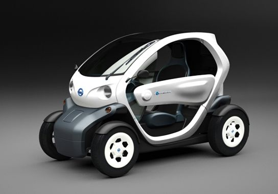 Nissan 2 Seater Electric Concept Car