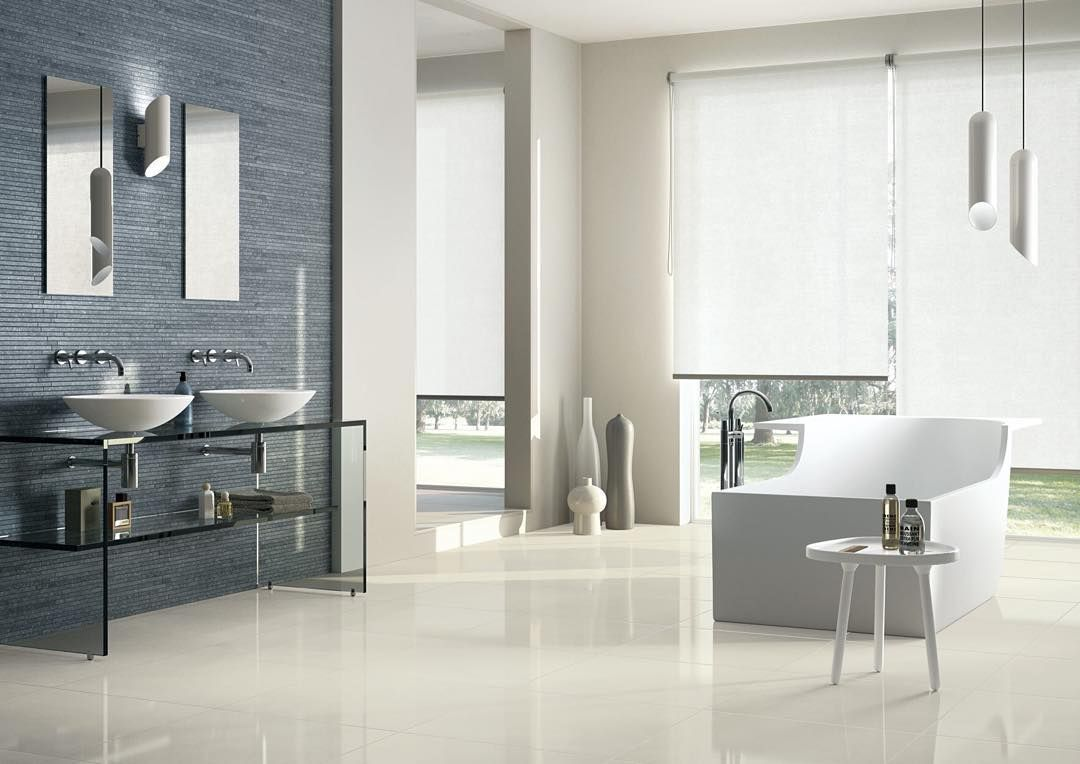 LUXE Mono Creme 30x60cm rectified full-bodied POLISHED porcelain ...