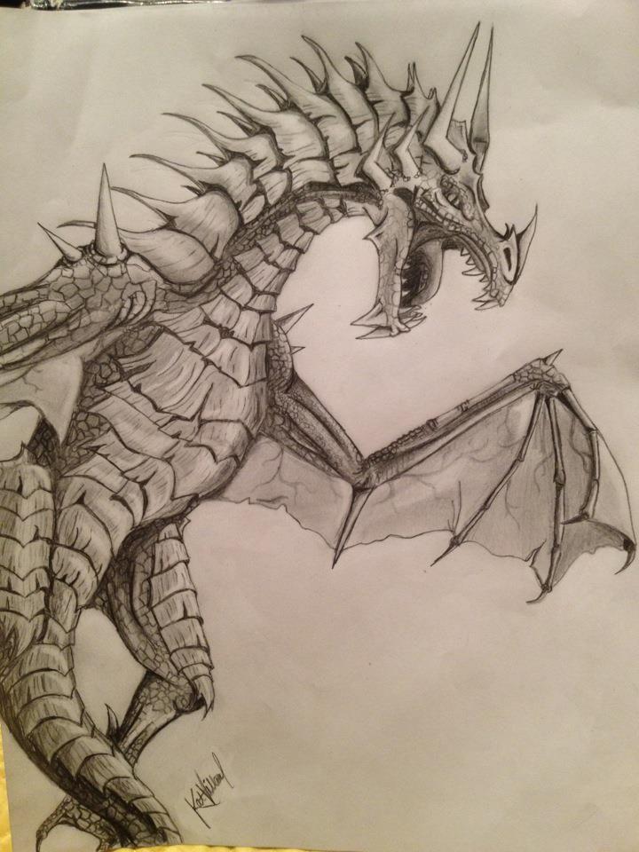 0e3682fe1d358d0d40969836488109a6 » Cool Dragon Drawing
