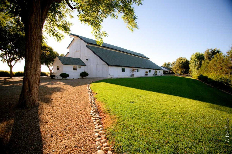 Oak farm vineyards, Lodi Ca. Barn venue California