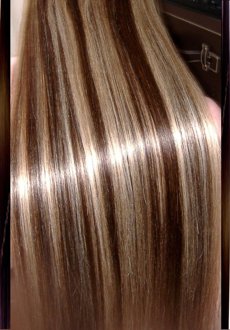 Brown Hair With Platinum Highlights Highlights On Brown Hair Dark
