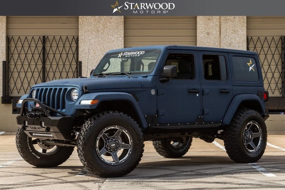 eBay Wrangler Unlimited Sport 2018 Jeep Wrangler, Black