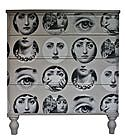 wallpapered furniture Bryonie Porter It would almost be like having a real Fornasetti