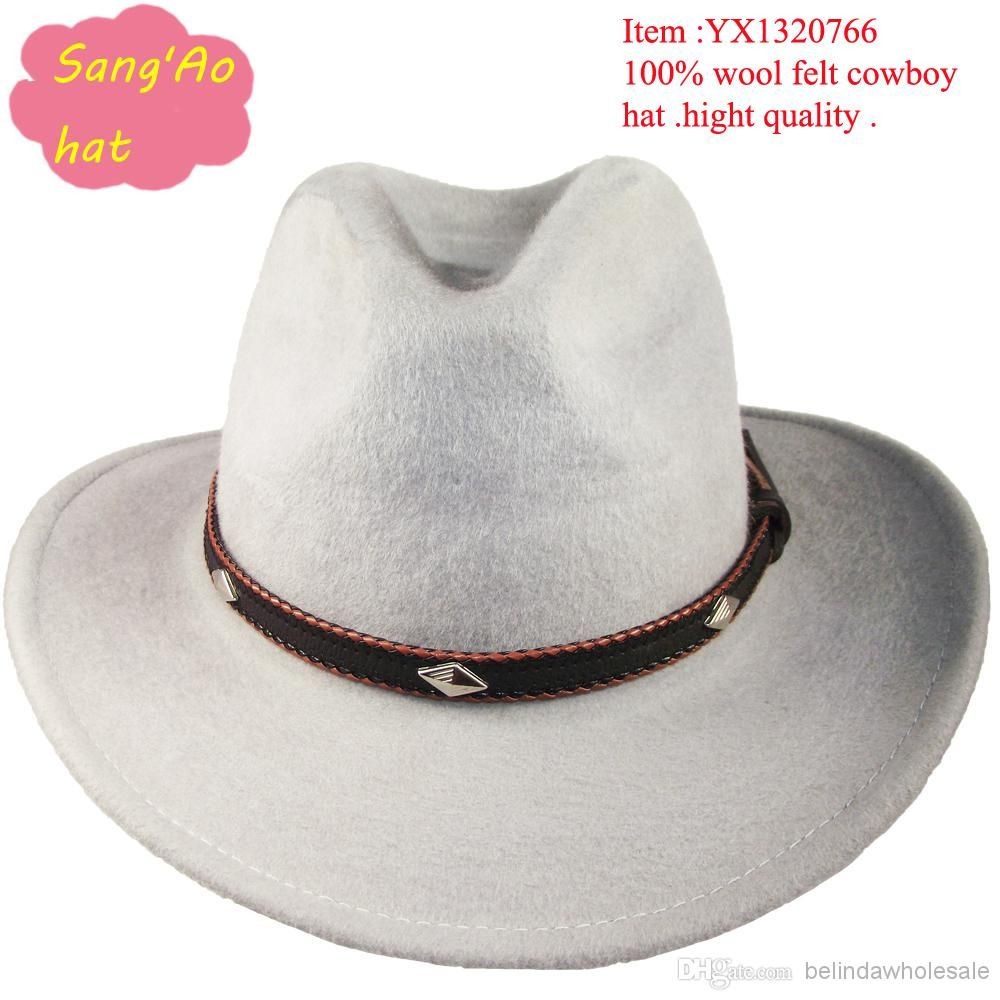 1b526a51768 wholesale grey round top hat for fishing men