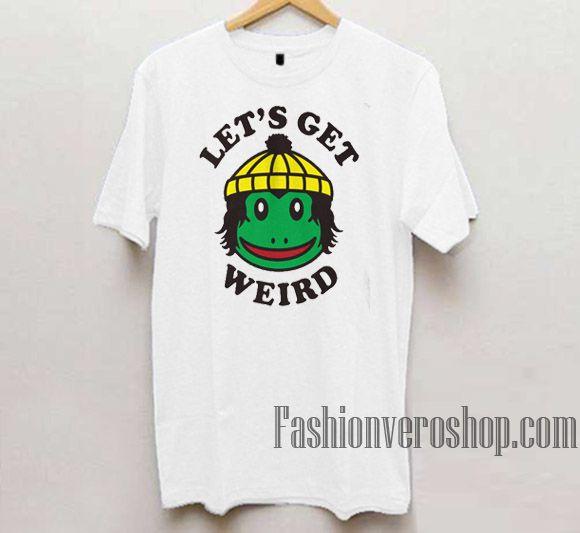 9cfe45af Finn Wolfhard Lets Get Weird Unisex adult T shirt di 2019 | Fashion ...