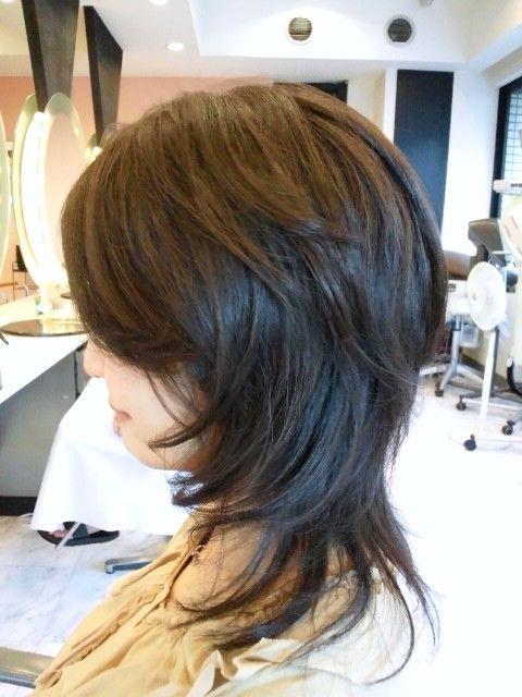 表参道 青山 美容室40代 50代 60代ヘアスタイル 髪型 ヘア