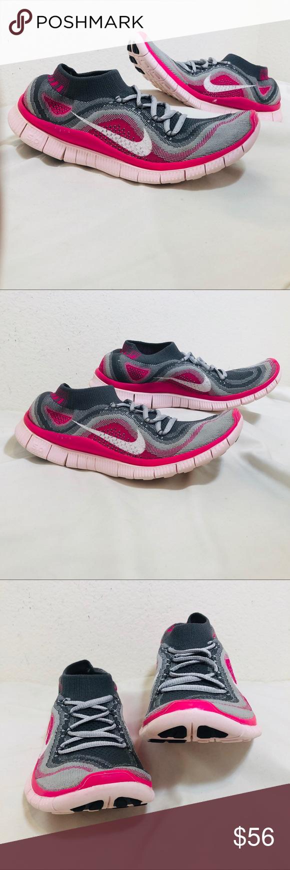 746adedbe49c Nike Free 5.0 Flyknit Women s Shoes Nike Free 5.0 Flyknit Size  10 Women s  Condition  preowned