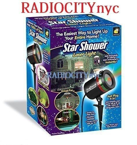 Star Shower Laser Light Show Indoor Outdoor colorful Christmas