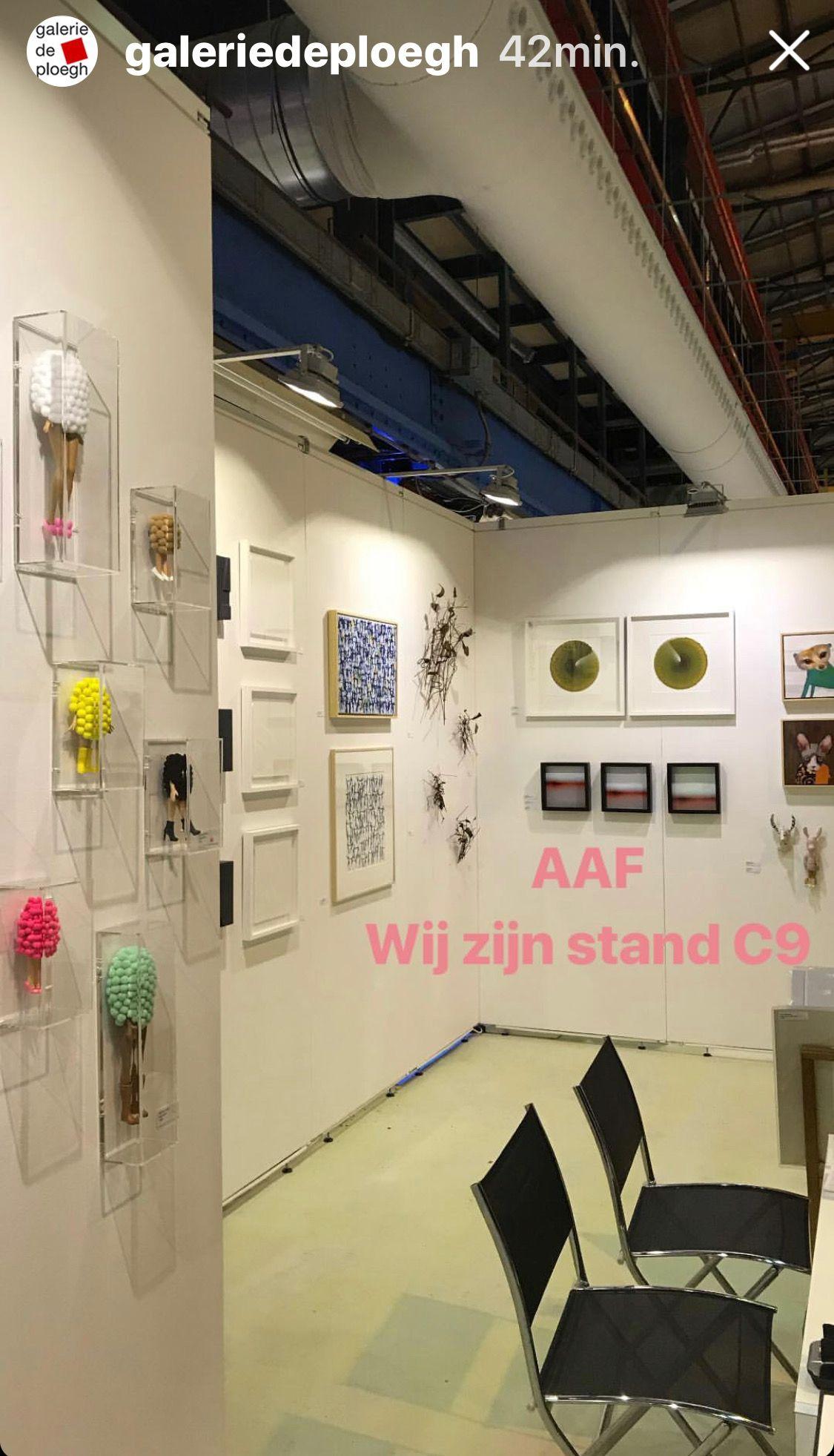 Affordable Art Fair Amsterdam 2018 Galeriedeploegh Amersfoort
