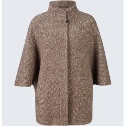 Photo of Cape jacket in brown-beige patterned windsor