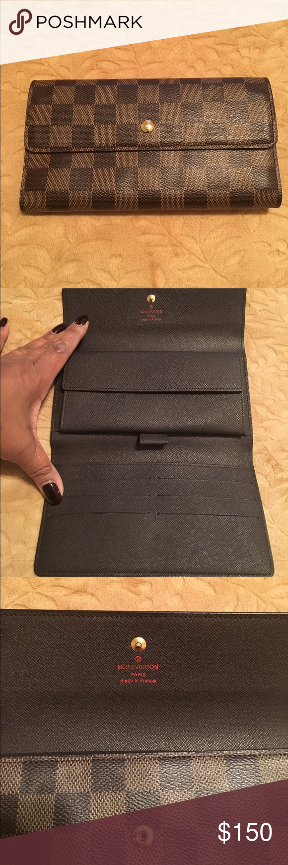 LV wallet Never used brown wallet.  In excellent condition.  No scratches.  Price reflects authenticity. Louis Vuitton Bags Wallets