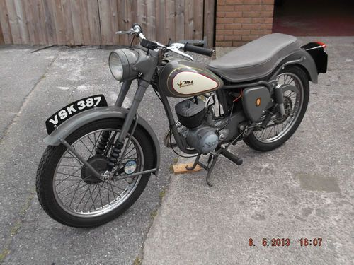 BSA BANTAM D3 MAJOR 150cc DEC/MANF 1956 | eBay | My motorcycles