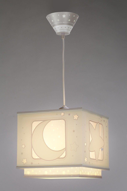 Dalber Fluoreszierende Hangelampe Mond Und Stern Grau 63232e