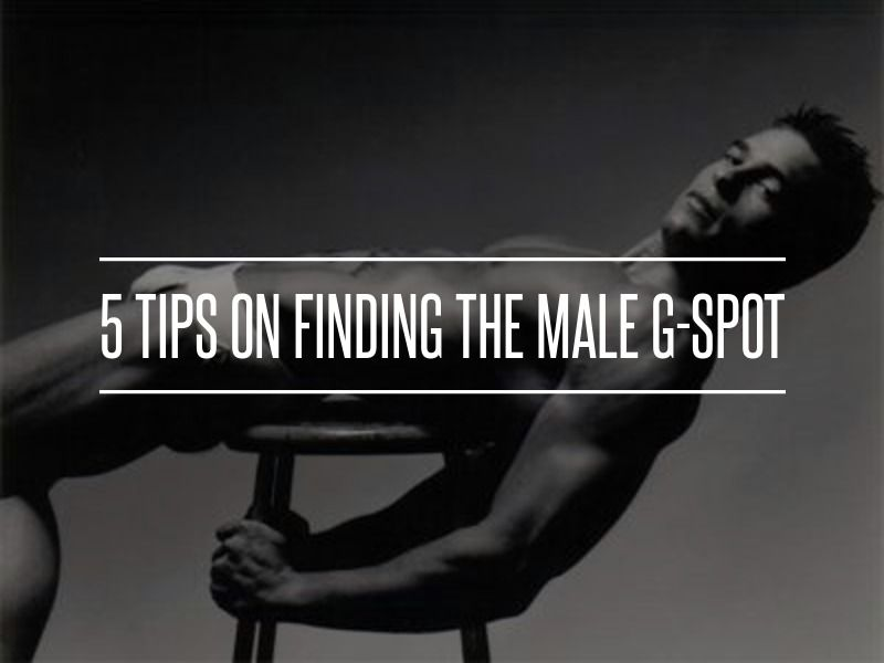 Male is the where spot exactly g How to