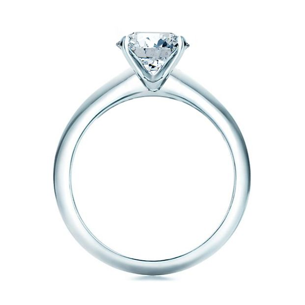diamond gold ring rings p en classic classique bague solitaire in diamant monture