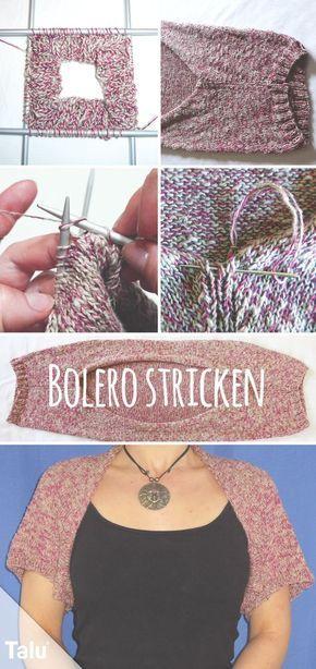 Photo of Bolero selber stricken – kostenlose Strickanleitung – Talu.de