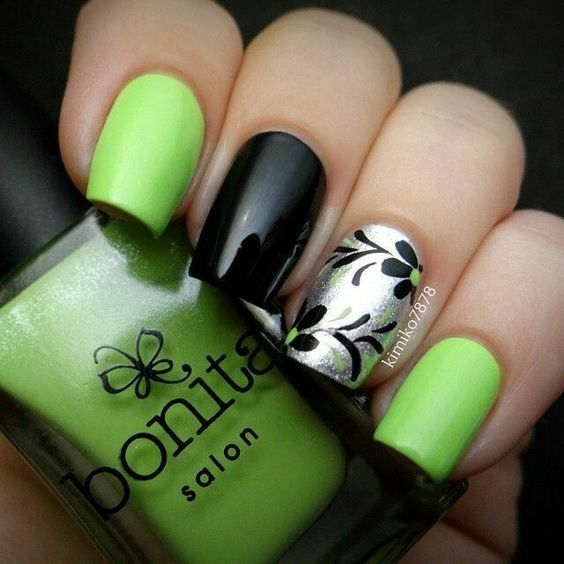 Lime green nails - Nails, Toenails, Hair, Tattoo art, Trends ...